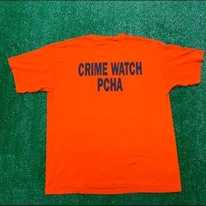 Vintage Sheriff Crime Watch Single Stitch Shirt